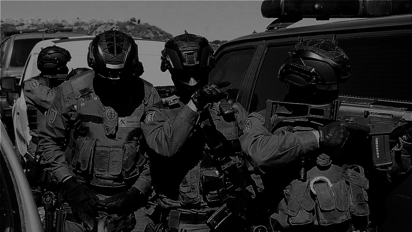 EQUIPAMIENTO PARA UNIDADES POLICIALES